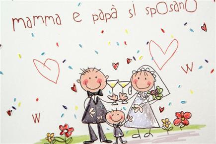 Partecipazioni di nozze online vendita partecipazioni for Disegni sposi stilizzati