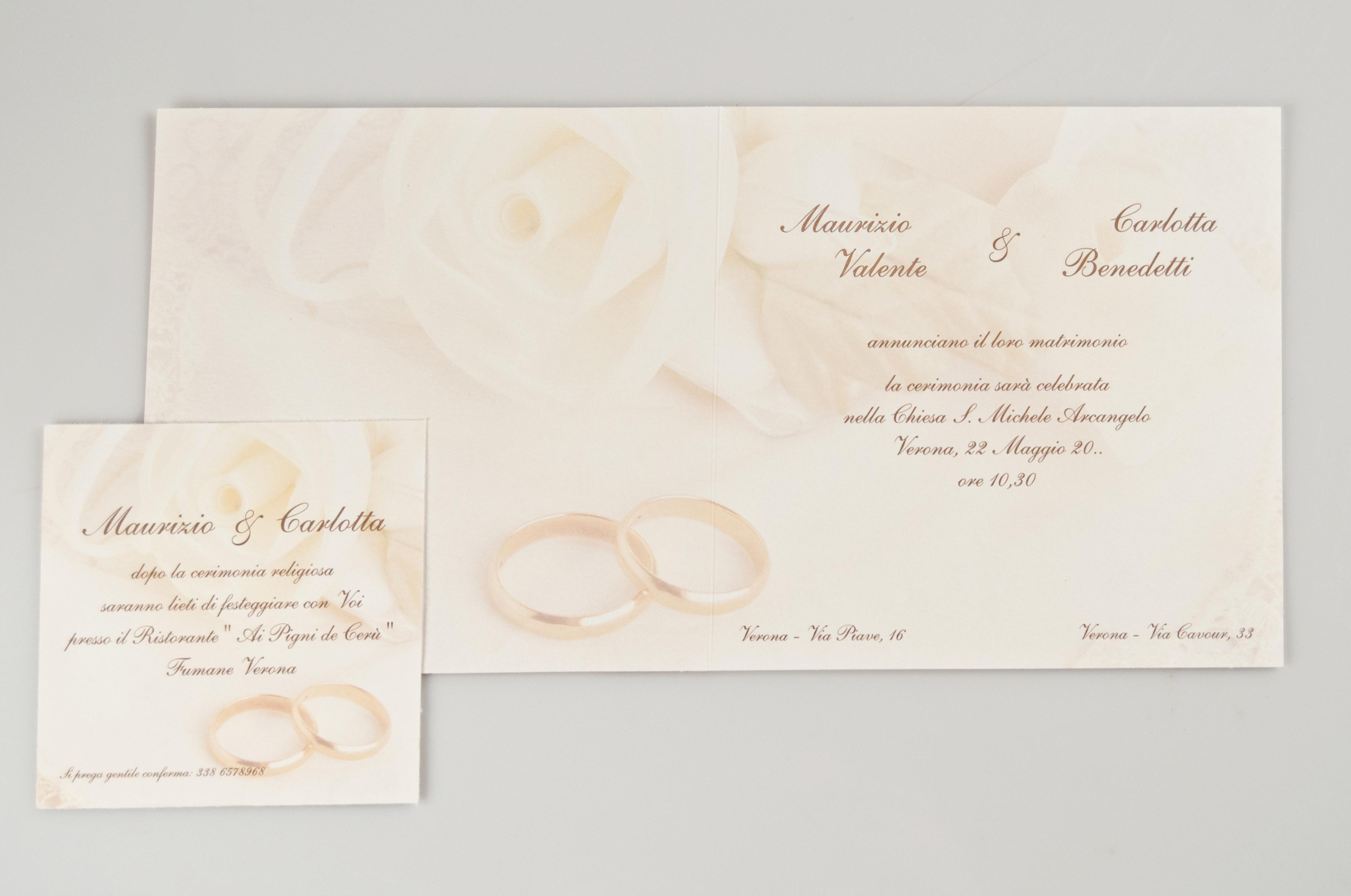 Partecipazioni di nozze matrimonio bari migliore for Partecipazioni nozze on line