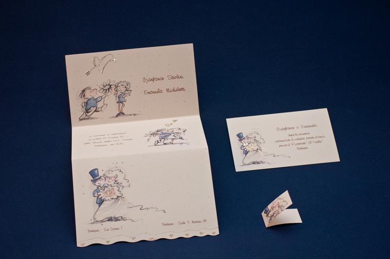 Partecipazioni di nozze annunciate dai figli migliore for Partecipazioni nozze on line