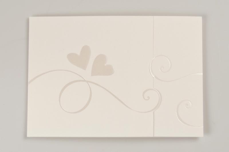 Partecipazioni Matrimonio Bianche.Partecipazione Di Matrimonio Lisa Partecipazione Elegante In