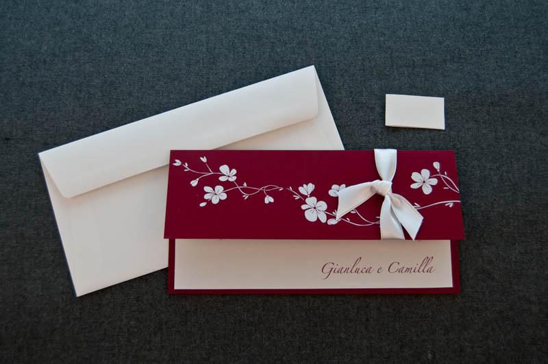 Partecipazione maria partecipazione su cartoncino for Partecipazioni nozze on line