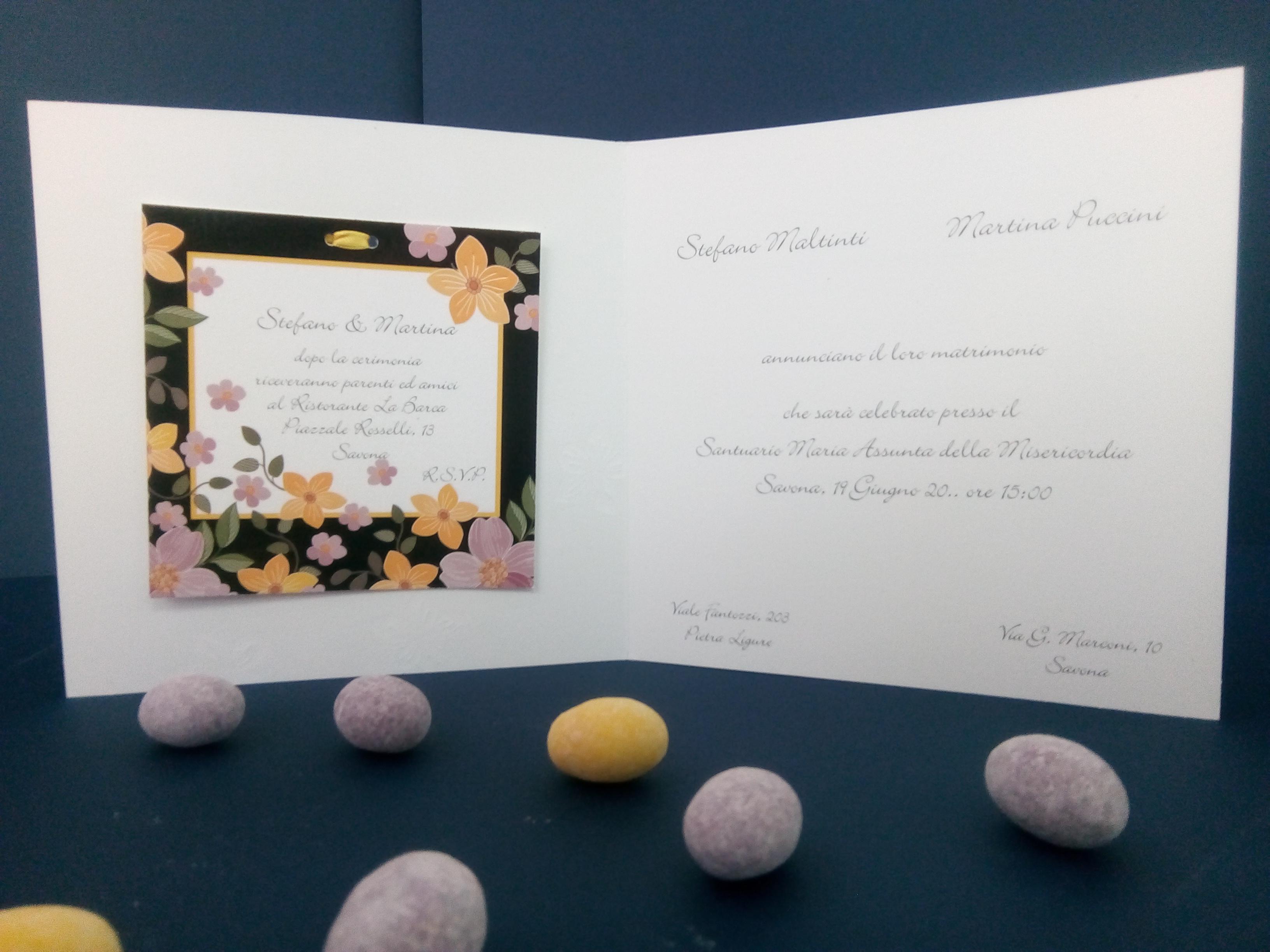 Partecipazioni Matrimonio 2018 Online.Partecipazione Di Matrimonio Ermione Partecipazione Novita